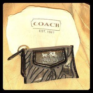Coach Mini Skinny Keychain Wallet
